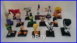 15 Looney Tunes Warner Bros Hand Painted Metal Characters Figurines, RARE