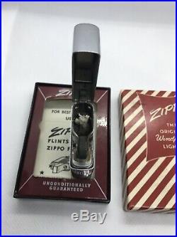 1954 Warner Brothers Bugs Bunny Zippo Lighter In Box Super Rare