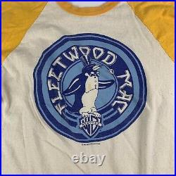 1976 Fleetwood Mac Warner Bros Vintage Band Rock Tour Shirt 70s 1970s RARE