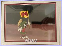 1984 Marvin the Martian MTV Title ID Commercial Production Cel Rare