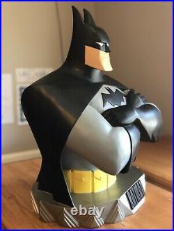 1997 Batman Animated statue bust 18 WBSS Warner Brothers Studio Store RARE