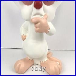 1997 Pinky And The Brain Rare 11 Brain Large Resin Statue Cartoon Warner Bros