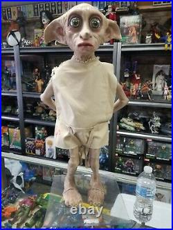 2003 Harry Potter Life Size Dobby Figure in Original Box with Stand Promo MIB Rare