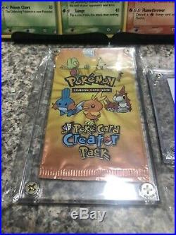 2004 Pokemon Kids WB Warner Bros Poke Card Creator Full Set Ultra Rare 5/5 Promo