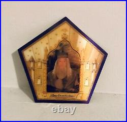 Albus Dumbledore Gold Chocolate Frog Card Extremely Rare