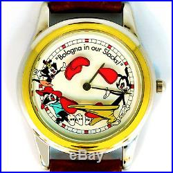 Animaniacs'Bologna in our Slacks' Animated, W-B By Fossil, New Unworn Rare $129