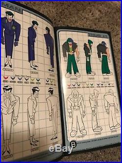 BATMAN BEYOND DC Comics Warner Bros Style Guide Fall 1999 W CD & Booklet RARE