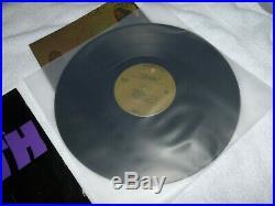 BLACK SABBATH Master Of Reality WARNER BROS LP RARE POSTER BEAUTY