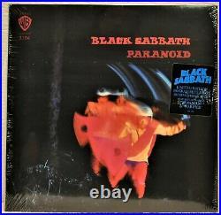 BLACK SABBATH Paranoid RARE 180 Gram BLUE VINYL New / Sealed