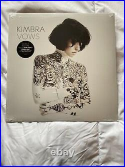 BRAND NEW Kimbra Vows VINYL LP SEALED! Never Played/Never Opened! Rare