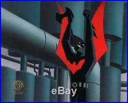 BRUCE TIMM rare BATMAN BEYOND Disappearing Inque cel BTAS WB COA
