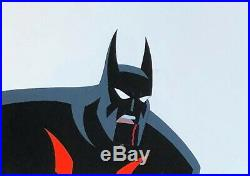 BRUCE TIMM rare BATMAN BEYOND Rebirth Part 2 BRUCE blood cel BTAS WB COA