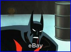 BRUCE TIMM rare BATMAN BEYOND Rebirth Part 2 BRUCE squint cel BTAS WB COA