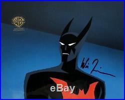 BRUCE TIMM rare BATMAN BEYOND Rebirth Part 2 SIGNED cel WILL FRIEDLE COA (3)