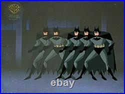 BRUCE TIMM rare BATMAN cel DEMON WITHIN Etrigan episode Jack Kirby BTAS WB COA