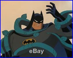 BRUCE TIMM rare BATMAN cel HOUSE AND GARDEN Poison Ivy BTAS WB COA