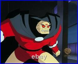 BRUCE TIMM rare ETRIGAN cel DEMON WITHIN Batman episode Jack Kirby BTAS WB COA