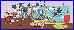 BUGS & DAFFY Birth of a Notion RARE Warners Ltd Ed CEL Signed CHUCK JONES