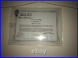 BUGS & THUGS Virgil Ross Ltd Ed Cel VERY RARE Rocky & Mugsy! WARNER BROTHERS