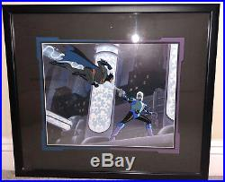 Batman Animated Seres Limited Edition Cel Heart Of Ice Mr Freeze Rare