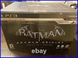 Batman Arkham Origins - Collector's Edition (PS3) Sealed Rare