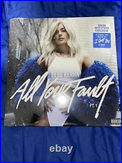 Bebe Rexha All Your Fault Pt. 1 Vinyl Urban Outfitters Exclusive RARE EXCLUSIVE