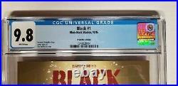 Black #1 Black Mask fried Pie Variant CGC 9.8 Warner Bros Movie Rare NM