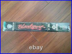 Bloodsport (VHS, 1987) Brand New Factory Sealed Warner Bros Van Damme RARE