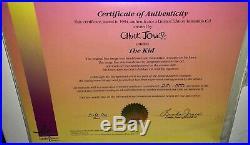 Bugs Bunny Cel Charlie Chaplin The Kid Rare Warner Bros Chuck Jones Signed Cell