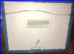 Bugs Bunny Warner Brothers Cel Bugs Gets The Boid Rare Animation Edition Cell