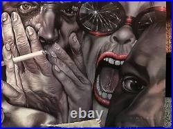 BulletBoys Freakshow Lp Vinyl Record 1991 First U. S. SRC Pressing Tested Rare