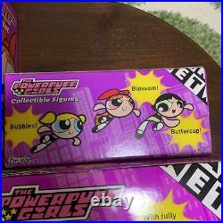 Cartoon Network Powerpuff Girls Plays Figure 4 Set Rare