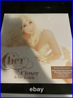 Cher 2013 Closer to the Truth Ltd Edition White Vinyl-Sealed. Rare Out Of Print