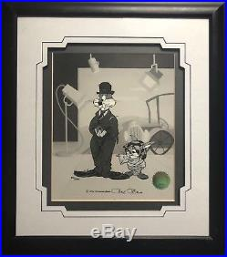 Chuck Jones SIGNED The Kid Hand Painted Sericel Ltd Edition Rare Warner Bros