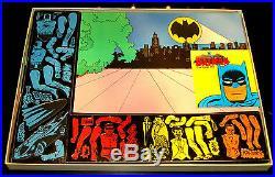 Colorforms Batman Ultra Rare Giant Red Playset C-9.99 Dead Museum Quality Mint