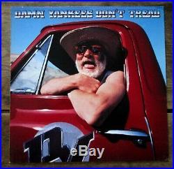 DAMN YANKEES Don't Tread (1990) Vinyl, LP Warner Bros. Extremely Rare EX