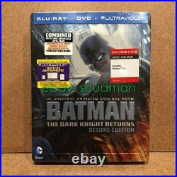 Dcu Animated Batman The Dark Knight Returns Target Blu-ray Steelbook Sealed Rare