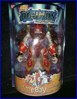 Digimon Gallantmon Crimson Mode Warp Digivolving Figure Bandai Rare- New