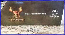 Disney Pirates Of The Caribbean Dead Man's Chest RC Black Pearl Remote Ship RARE