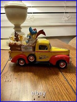 ERTL 1999 Warner Bros. Foghorn Leghorn 1940 Ford Pickup Truck Bank RARE
