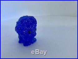 EXTREMELY RARE Woolworths Lion King blue Mufasa glitter spirit ooshie