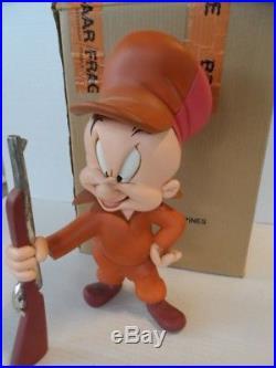 Elmer Fudd Master Hunter 15 inch Rutten Statue Warner Bros. Looney Tunes RARE