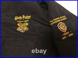 Exclusive RARE Harry Potter Jacket Cast Crew Warner Bros Christmas Hogwarts Xmas