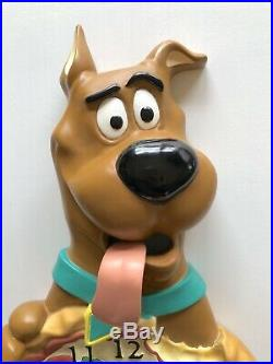 Extremely Rare! 1997 Warner Bros. Studio Scooby Doo Pizza Moving Wall Clock