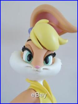 Extremely Rare! Looney Tunes Bugs Bunny Lola Bunny Standing Big Figurine Statue