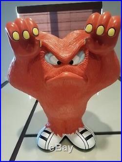 Extremely Rare! Looney Tunes Gossamer Hairy Orange Monster Standing 20 Statue