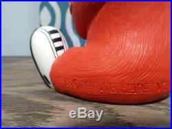 Extremely Rare Looney Tunes Gossamer Hairy Orange Monster Statue
