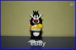 Extremely Rare! Looney Tunes Sylvester Cuddling Tweety Demons Merveilles Statue