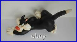 Extremely Rare! Looney Tunes Sylvester Hunting For Tweety Old Figurine Statue