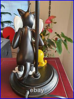 Extremely Rare! Looney Tunes Sylvester Wants To Eat Tweety Figurine Lamp Statue
